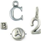 Alphabet Beads and Charms