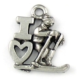 Winter Sport Charms
