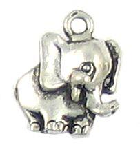 Wholesale Happy Elephant Charms.