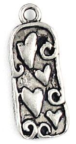 Heart Pendant (±10x24x2mm; -2mm-;1D)