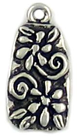 Flower Pendant (±11x22x2mm; -2mm-;1D)