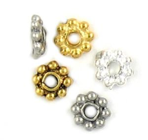 Wholesale 7mm daisy spacer beads