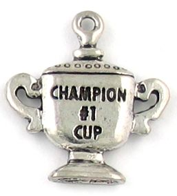 Wholesale #1 Champion Cup Charms.