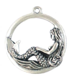 Wholesale Mermaid in Ring Pendants