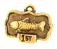 Fish Trophy (±14x11x3mm; -1.5mm-;1D)