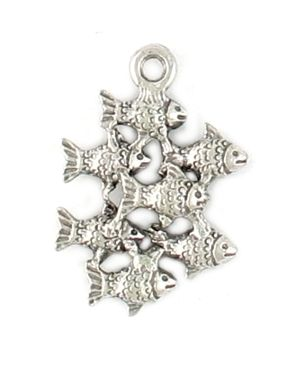 Wholesale School Of Fish Charms.