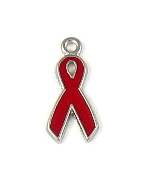 Red Ribbon Charm