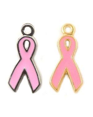 Pink Ribbon Charm