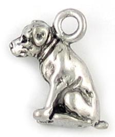 Wholesale Sitting Dog Charm