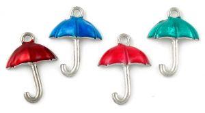 Epoxy Enamel Umbrella (±14x20x4mm; -1mm-;1D)