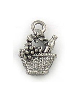 Wholesale Wine Basket  Charms.