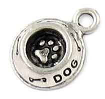Wholesale Dog Bowl Charm