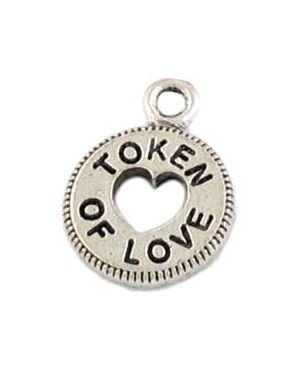 Token Of Love (±12.5x17x1.5mm; -2mm-;1D)