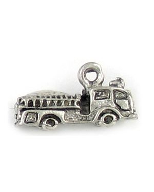 Pewter Fire Truck - Fire Engine Charms.