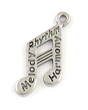 Wholesale Melody, Rhythm, Harmony Music Note Charms.