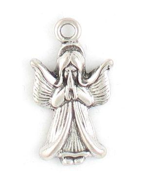 Praying Angel Charms (±14x25.5x2.5mm; -2mm-;1D)