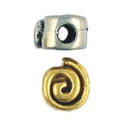 Wholesale Spiral Disc Beads.