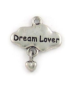 Dream Lover Charm (±19x21x2mm; -1.5mm-;1D)