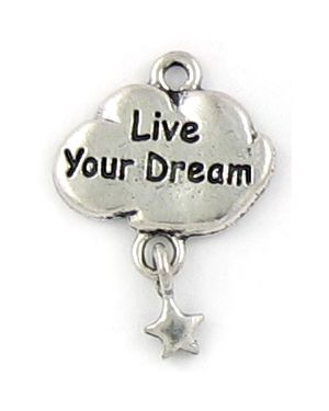 Wholesale Live Your Dream Charms