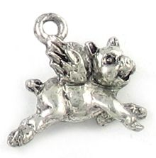 Wholesale Flying Pig Charms.