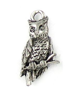Wholesale Owl Charm