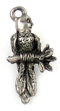 Wholesale Parrot on Branch Charms.