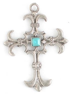 Wholesale Cross Pendants with Assorted Colors Crystals