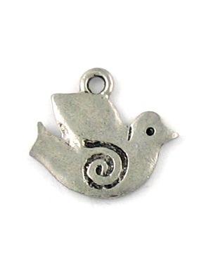 Spiral Dove (±17x15x1mm; -2mm-;2D)