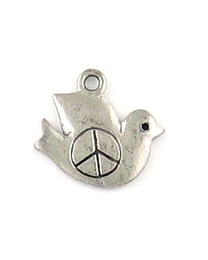 Peace Dove (±17x15x1mm; -2mm-;2D)