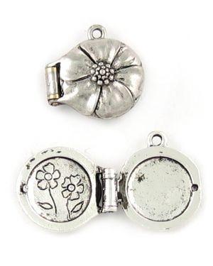 Flower Locket (±20x20x8mm; -1.5mm-;3D)