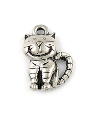 Wholesale Smiling Cat Charms.