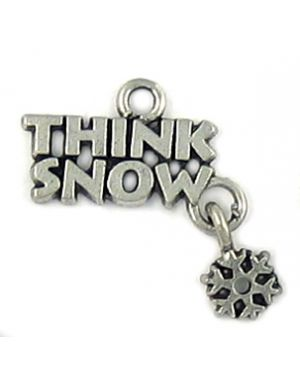 Wholesale Think Snow With Snowflake Charms.