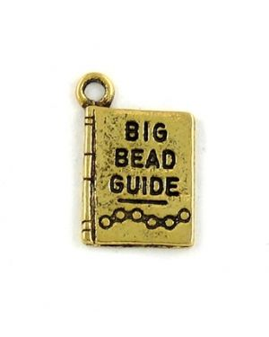 """Big Bead Guide"" (±11x17x1mm; -1mm-;1D)"