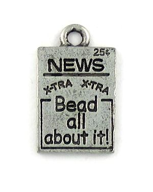 """""""Bead All About It"""" (±12x19x2mm; -2mm-;1D)"""