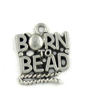 Born To Bead (±17x20x2mm; -2mm-;1D)