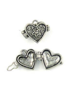 Wholesale pewter heart locket