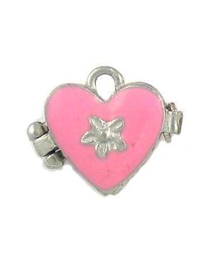 Wholesale Pink heart locket