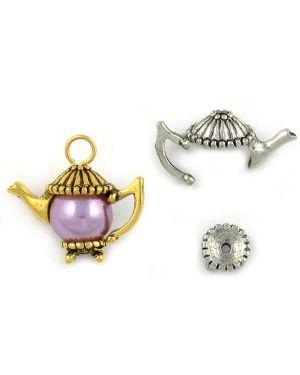 Wholesale Teapot Charm components