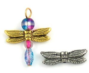 Wholesale Dragonfly Wing Beads.