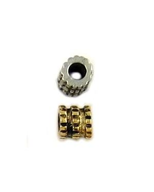 Grooved Bead (±5x5x5mm; -3mm-;3D)