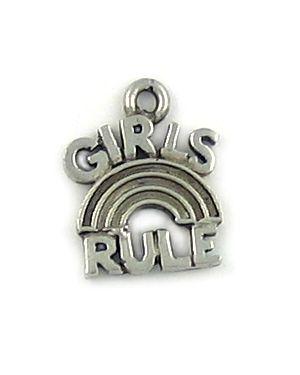 Girls Rule (±14x17x2mm; -1mm-;1D)
