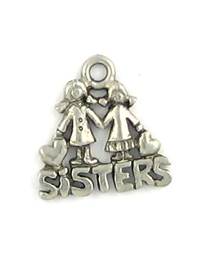 Wholesale sisters charms
