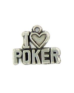 I Love Poker (±16x14x2mm; -1mm-;1D)