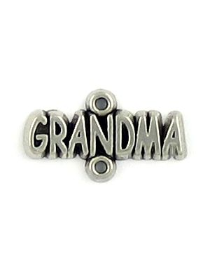 Wholesale Grandma Connector Charms.
