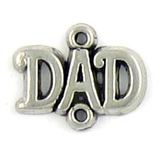 Wholesale Dad Connector Charms.