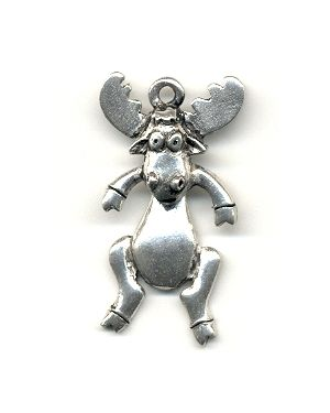 Wholesale Moose With Moving Head Pendants.