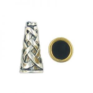 Wholesale Weave Design Beading Cones