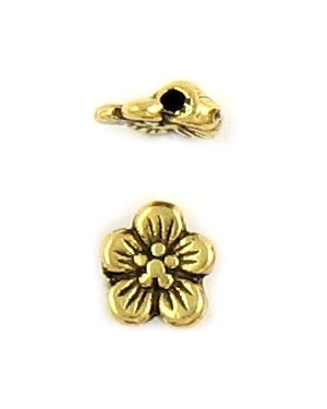 Flower Bead (±8x9x3mm; -1.5mm-;2D)