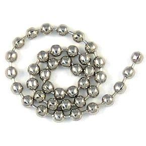 Ball chain #3 - 2.4mm - 100ft / spool