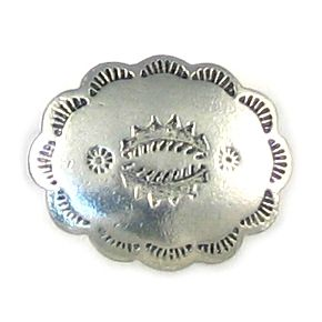 Wholesale Oval Button with Scalloped Edge